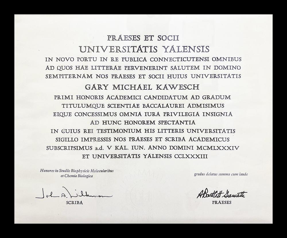 certificates doctor Kawesch 1
